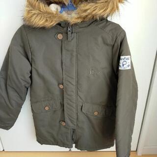 子供用ジャケット(160センチ、カーキ)