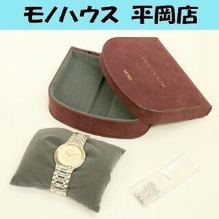 ジャンク腕時計 リューズ・巻き芯欠品の為不動です セイコードルチ...