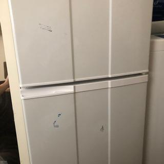 2ドア式冷蔵庫タダでさしあげます!