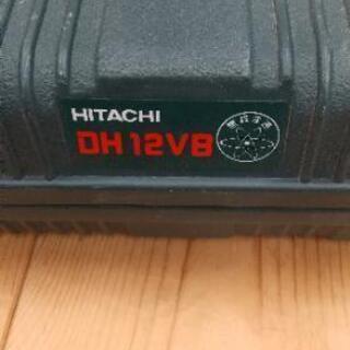 N 12-601 HITACHI DH12VB 電動ドリル 無断...