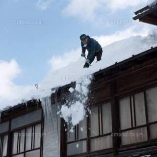 雪降ろし作業員募集❗️