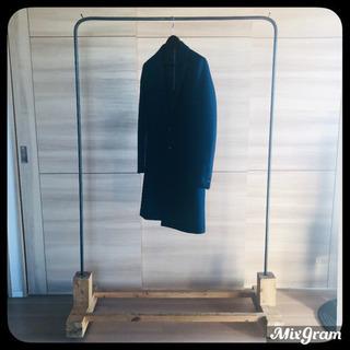 アンティーク家具  iron×wood hanger rack