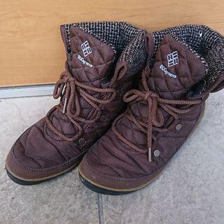コロンビア 24cm ショート ブーツ
