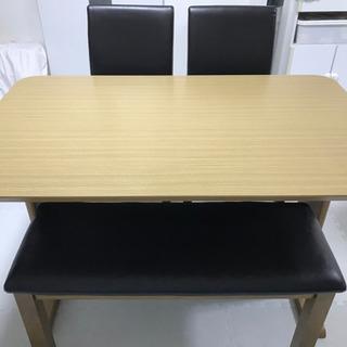 ダイニングテーブルセット チェア ベンチ