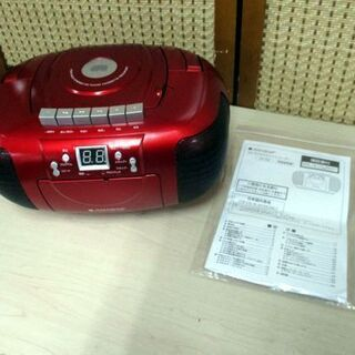 CD ラジオ カセット レコーダー CD-CB5 ラジカセ…