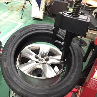 激安タイヤ交換、組み替え