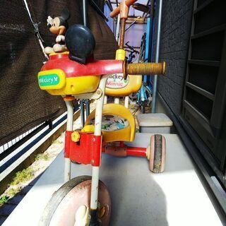 ミッキー三輪車 - 子供用品
