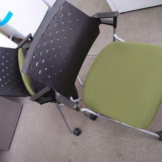 ■KOKUYO 会議用椅子 ピエガ 2脚セット