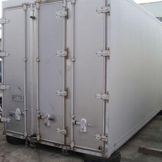 3t トラック コンテナ 保冷 物置き 資材道具 倉庫 プレハブ...