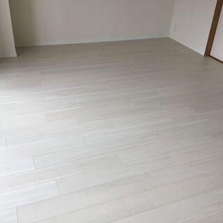 今まで無かった防音床、床暖房に施工可能に!フローリングは張替えか...