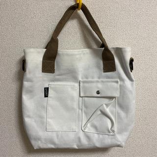 新品 ホワイト トートバッグ