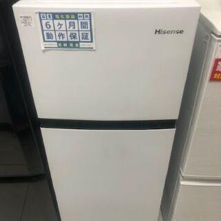 6ヶ月動作保証付 ハイセンス 2ドア冷蔵庫 HR-B1202 2...