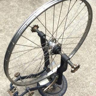 スポーツサイクルメンテナンス車輪(触れとりスポーク折れ対応)