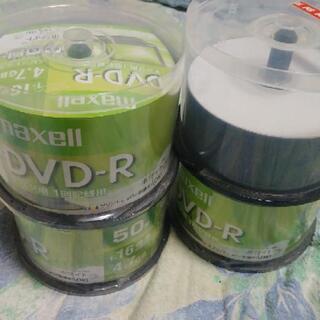 DVD-R 未開封150枚+開封済み20枚くらい