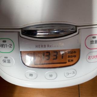 炊飯器5.5合