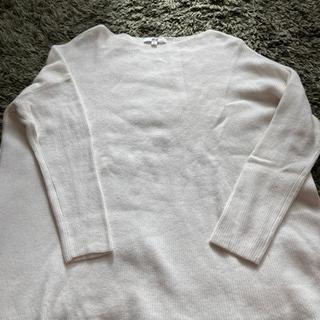 ユニクロ白セーター無料