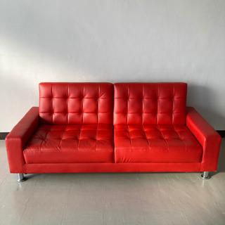 O 301-151 ソファーベッド RED