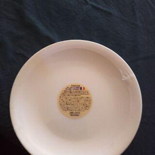 白皿6枚セット新品未使用(23センチ)