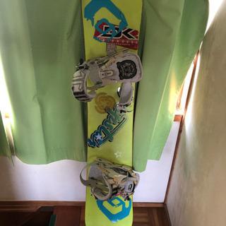 スノーボード 153㎝ 柔らかい板