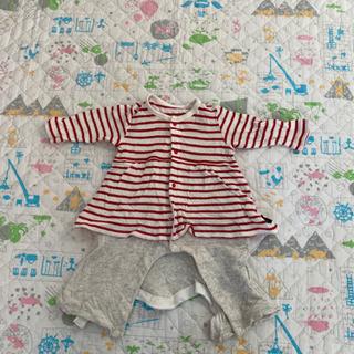 赤ちゃん用 赤白ボーダー