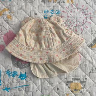 赤ちゃん用 ドット柄帽子