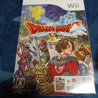 Wii ドラゴンクエストX ソフトのみ