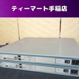 CISCO/シスコ サービス統合型ルータ 2台セット CISIC...