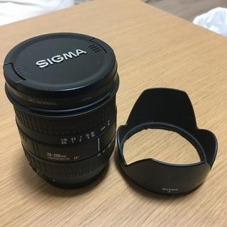 EFマウント SIGMA ASPHERICAL IF 28-200mm