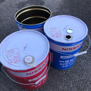 ペール缶 20リットル エンジンオイル 空缶