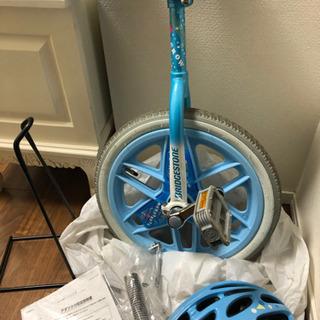 【ネット決済】ヘルメット付 一輪車16インチ 室内保管