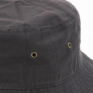 NEWHATTAN ブラック バケットハット