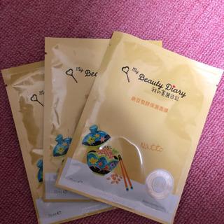 新品 我的美麗日記 納豆発酵保湿面膜 3枚