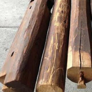 材木 角材 丸太 廃材