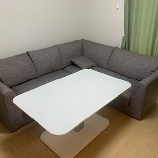 【ネット決済】24日に取りに来られる方限定‼️L字ソファ テーブル