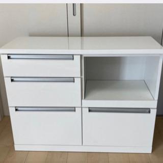 キッチンカウンター レンジ台 食器棚