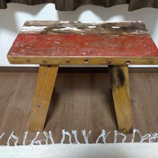 ビンテージチェア 飾り棚 椅子