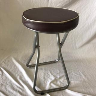 フォールディングスツール 折り畳み椅子