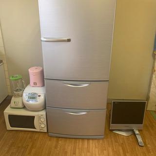 冷蔵庫電子レンジ炊飯器洗濯機テレビ お譲り先決まりました。の画像