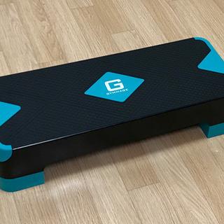 GYMMAGE 踏み台昇降 運動 ステップ台 ブルー