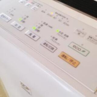 富士通の加湿器付き空気清浄機