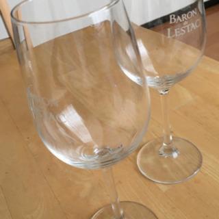 ワイングラス 2個 - 家具
