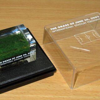 FIFA ワールドカップ  2002年 決勝舞台の芝(横浜…