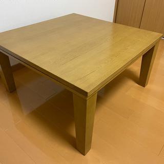 【決まりました】コタツ 平面パネルヒーター テーブル