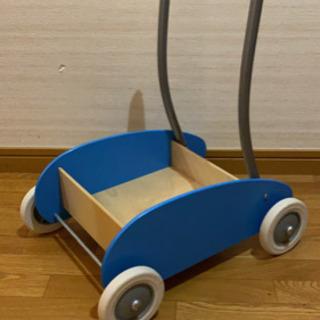 IKEA(イケア) 手押し車 ライトブルー