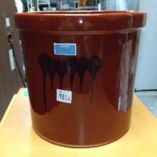 【中古美品】漬物容器 陶器 9.0L