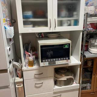 【決まりました】ニトリ製 食器棚 元値35000