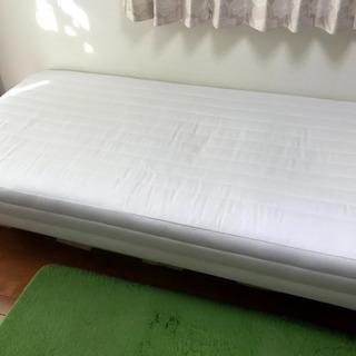 【シングルサイズ】無印良品 脚付マットレス(ベッド)