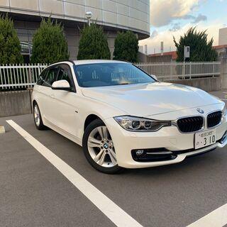 総額165万円BMW 320dツーリング スポーツ クルーズコン...