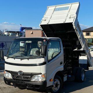 日野 デュトロ ダンプ 低床 7万km XZU554T 平成22...