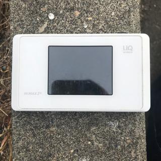 【ネット決済・配送可】UQ WiMAX本体のみ